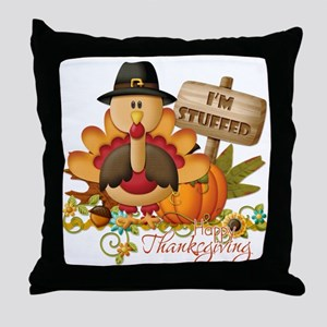 thanksgiving copy Throw Pillow